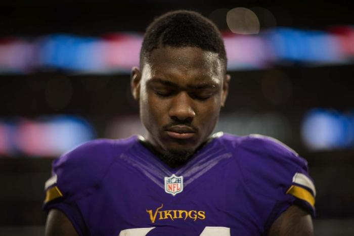 Stefon Diggs Out as Vikings Host Texans
