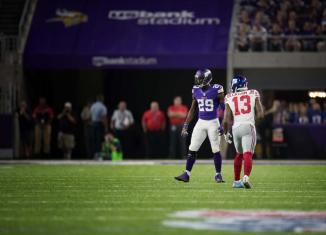 Xavier Rhodes is a Bad Man