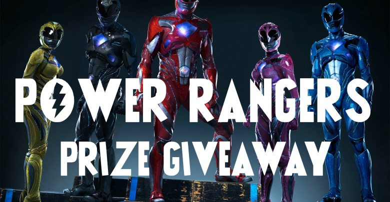 Power Rangers Prize Giveaway