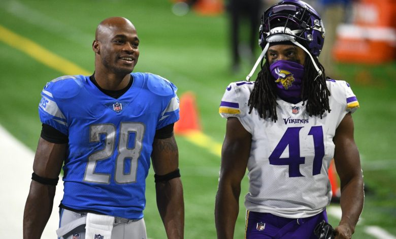 Adrian Peterson and Anthony Harris