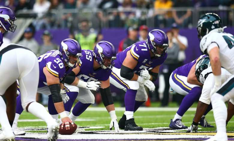 Vikings Offensive Line