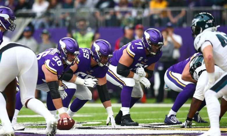 Vikings Offensive Line