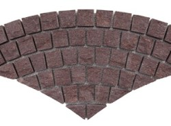 Porphyry - Portree - Fan Pattern Cobble