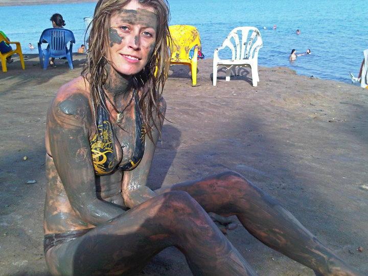 The dead sea mud