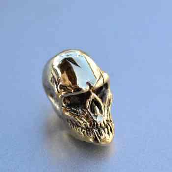 Фото бусина череп для темляка