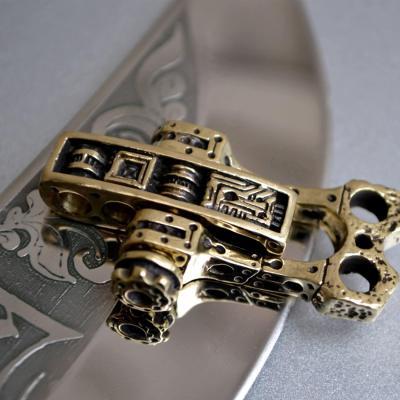 Фото застежка в стиле Стимпанк для браслета