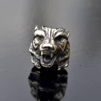 Фото бусина для паракорда волк