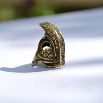 Фото бусина для темляка шлем спартанца