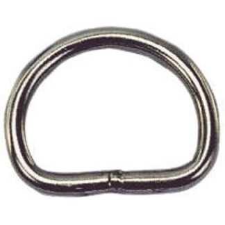 D-ring rostfri 6 mm x 45 mm
