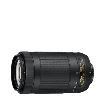 Nikon AF-P DX NIKKOR 70-300 mm f4.5-6.3G ED VR Lens for DSLR Cameras (Black) 1