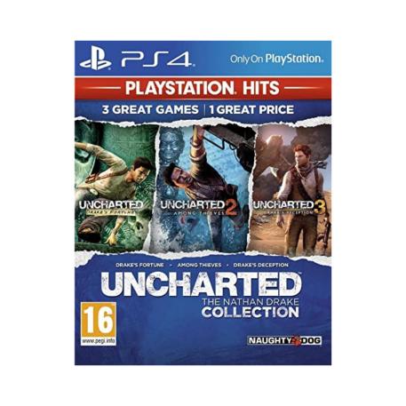 uncharted nathan drake collection