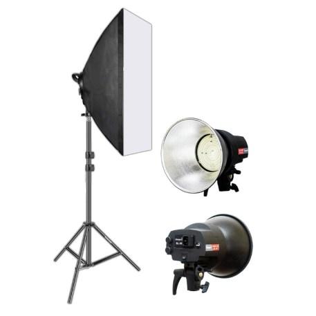 Studio Light Kit - Continuous AC power, 30W