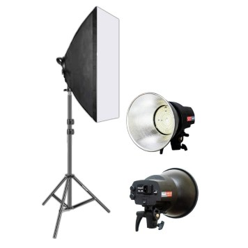 Studio Light Kit - Continuous AC power, 30W