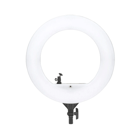 Simpex LED 522 Ring Light 18 inch Studio Lighting with Phone Holder