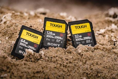 Sony Tough 64gb high speed SD card 11