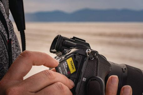 Sony Tough 64gb high speed SD card 6