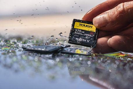 Sony Tough 64gb high speed SD card 9