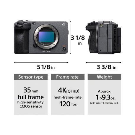 Sony FX3 Full-frame Cinema Line camera body