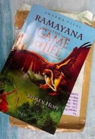 Beautiful Book Cover: Stolen Hope, Ramayana Book: 3