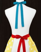 Snow White Apron (back)