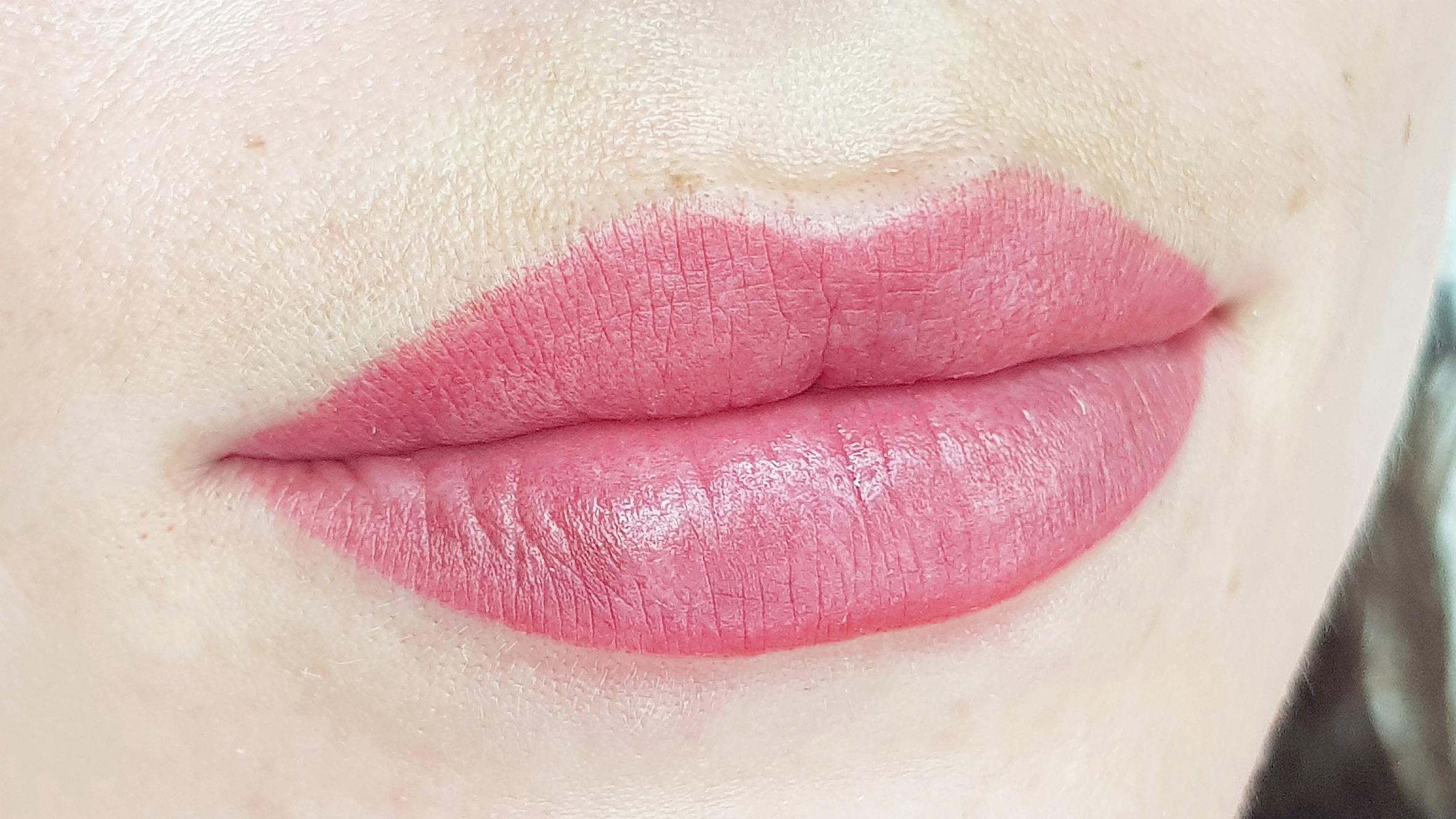 viktoria logoida tecnica sfumatura velours lips labbra