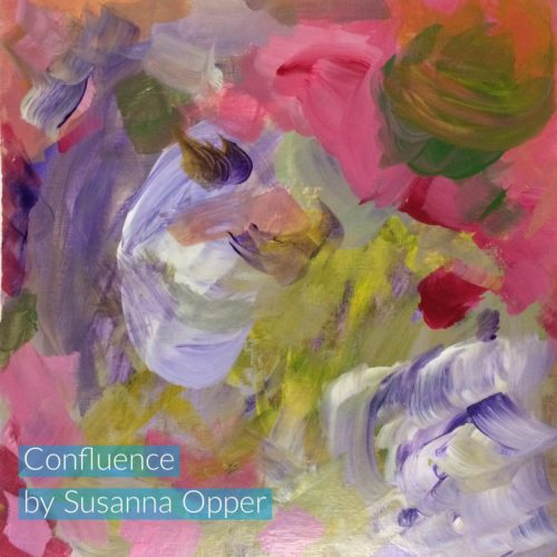 Intuitive Painting by Susanna Opper