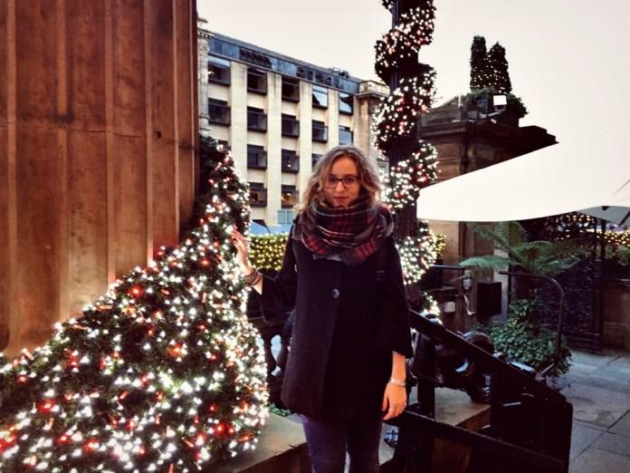 Edinburgh in the middle of December