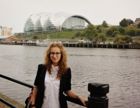 Newcastle, The Sage Gateshead (a concert hall built for £70 million)