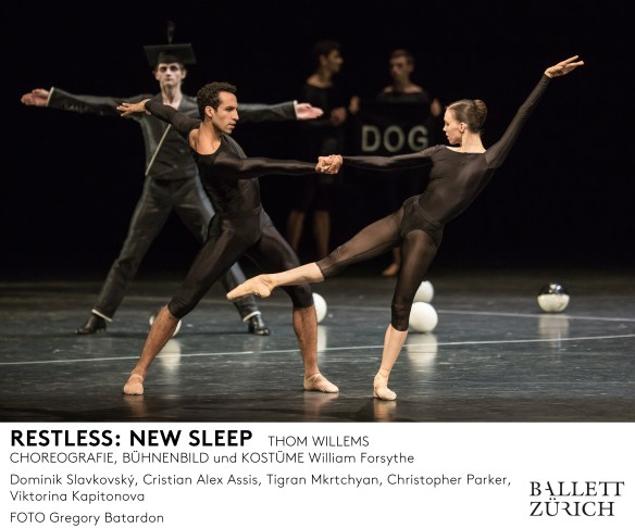 Ballett Zürich - Restless - 2015/16 © Gregory Batardon