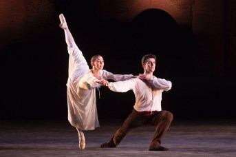 Viktorina Kapitonova Roberto Bolle Dancing Roland Petit's L'Arlesienne