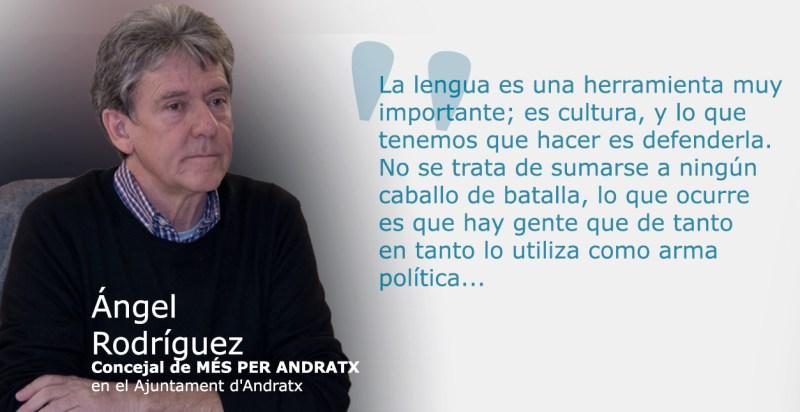 ANGEL RODRIGUIEZ REGIDOR DE MES PER ANDRATX