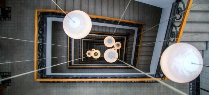 Lépcsőházak megvilágítása