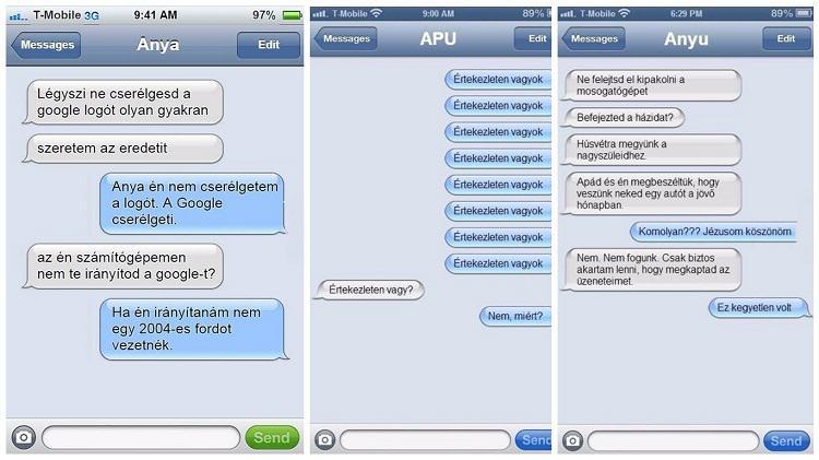 14 érv, hogy a szülőknek miért nem való az SMS