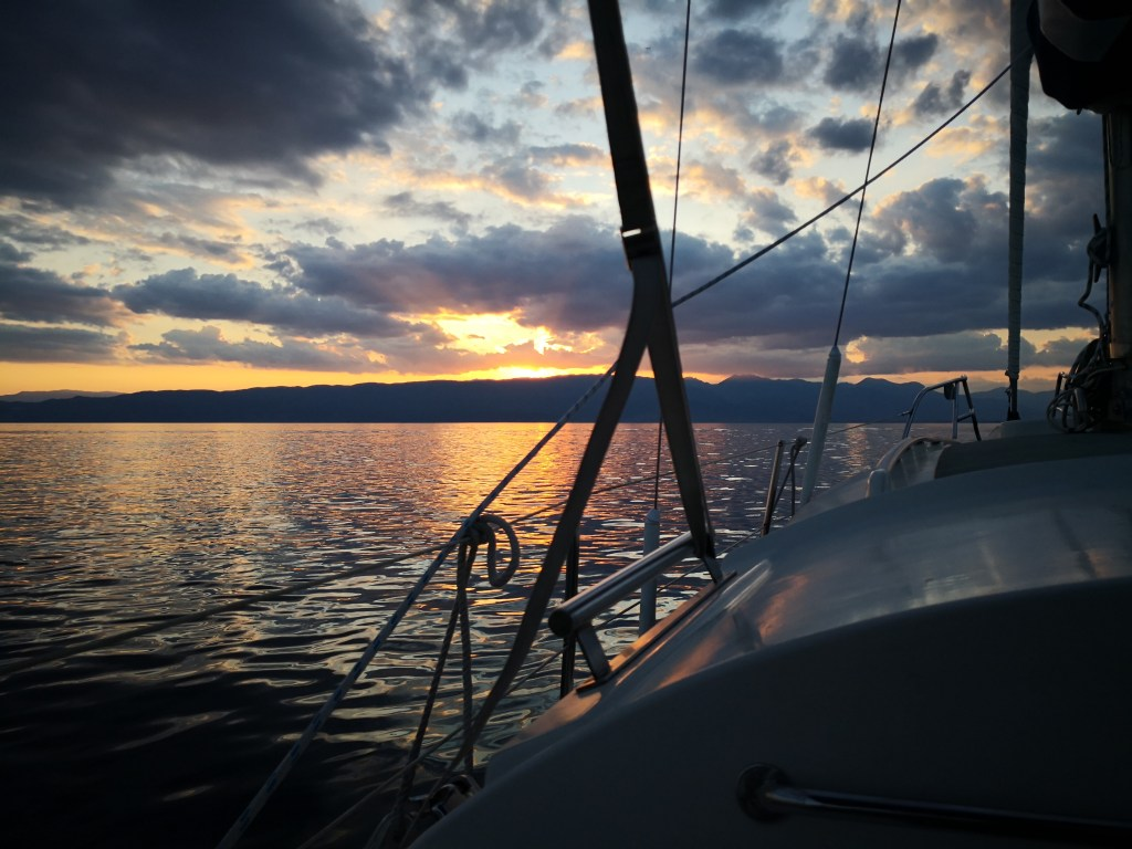 Sunset Sailing Ohrid