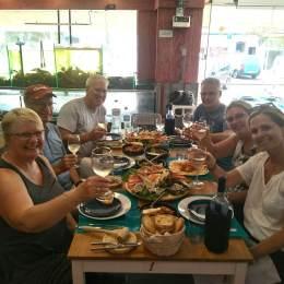 Bike tour seafood experience