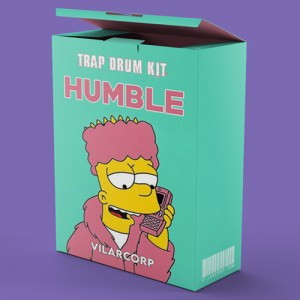 HUMBLE Trap Drum Kit by VILARCORP