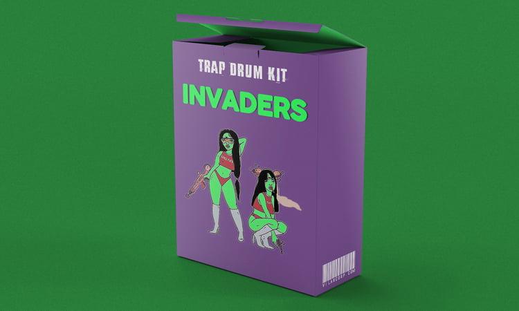 INVADERS Trap Drum Kit