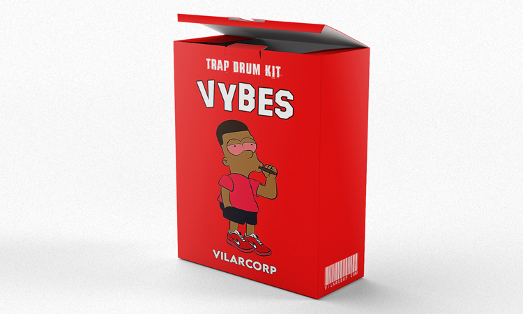 VYBES Trap Drum Kit