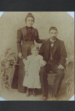 Joaquim Pedroso e Familia em inícios do século XX