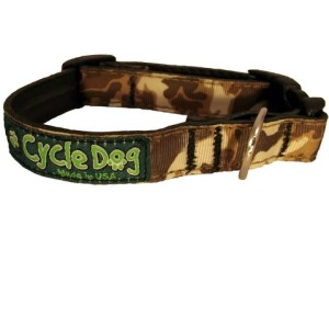 Cycle Dog halsband Brown Camo