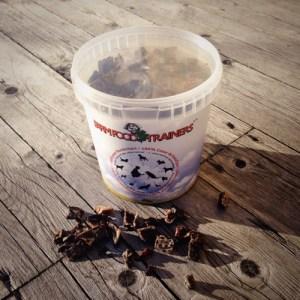 bild på farmfood trainers hundgodis 330 g