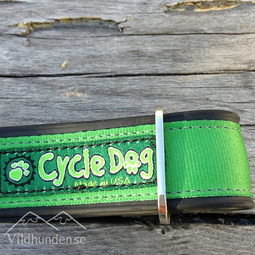 Cycle dog Solid Green hundhalsband