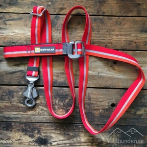 3-Ruffwear Slackline Kokanee Red