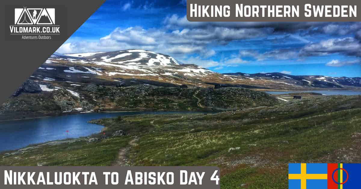 Day 4 Hiking the Kungsleden.