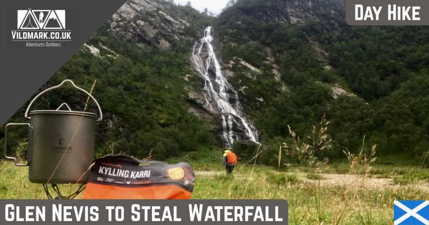 Glen Nevis to Steal Waterfall hike
