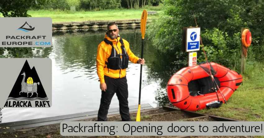 packrafting with the alpacka caribou