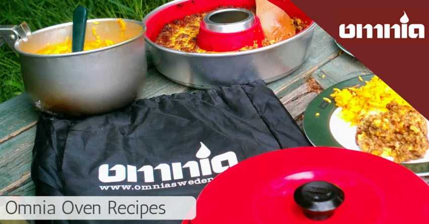 Omnia oven recipes