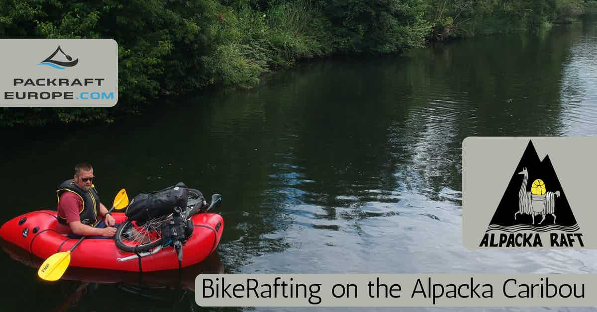 bike rafting in the alpacka caribou