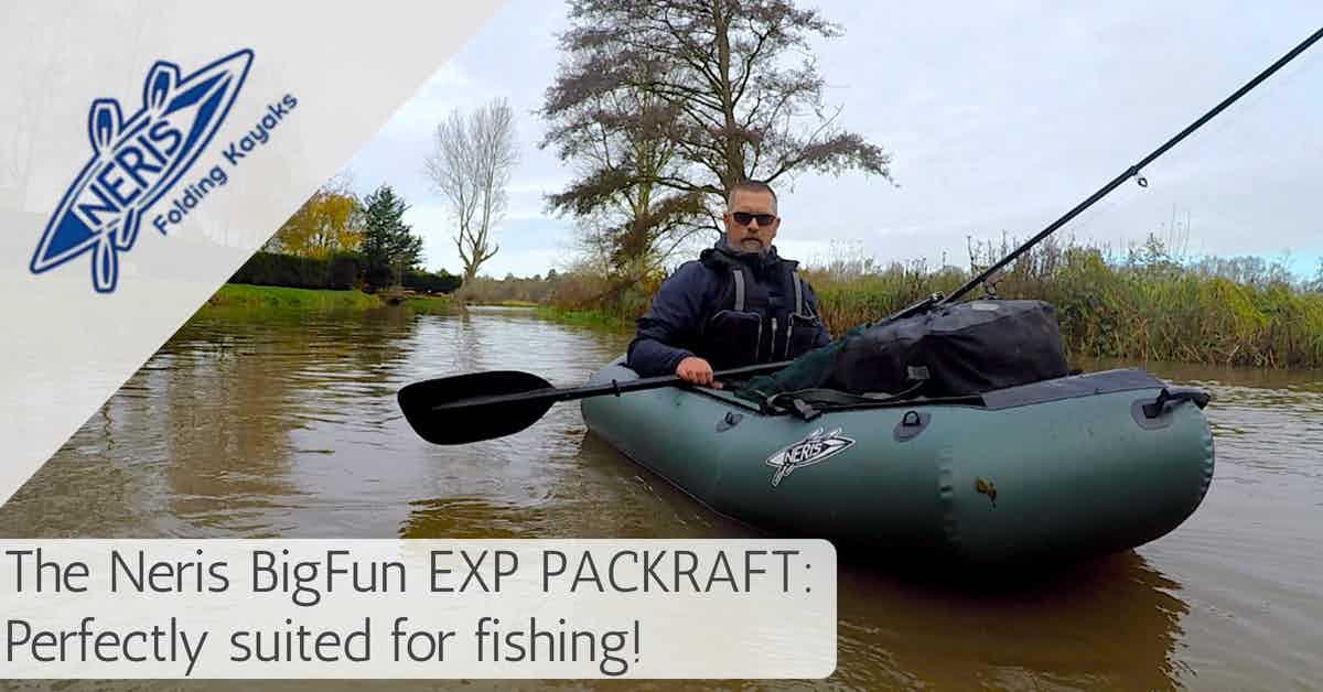 Neris BigFun EXP fishing packraft