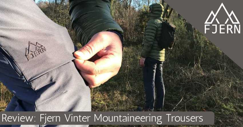 Fjern Vinter Mountaineering Trouser review